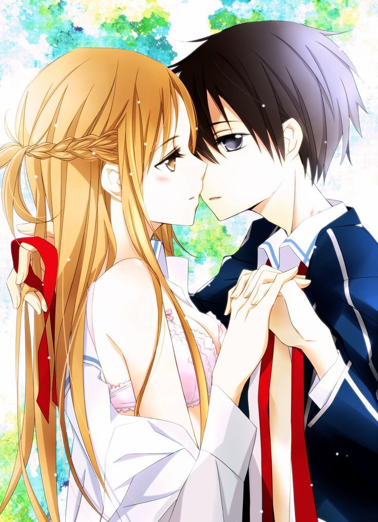 kazuto and asuna meet