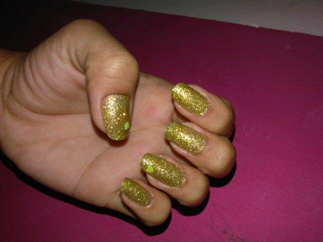 Mis uñas de la semana.