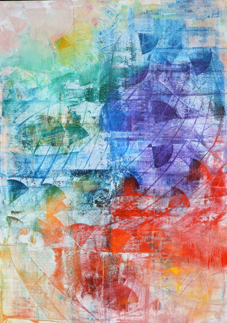 'Rainbow Kite' by Uxbridge Ontario painter Carolyn Bather.  Carolyn's love of…