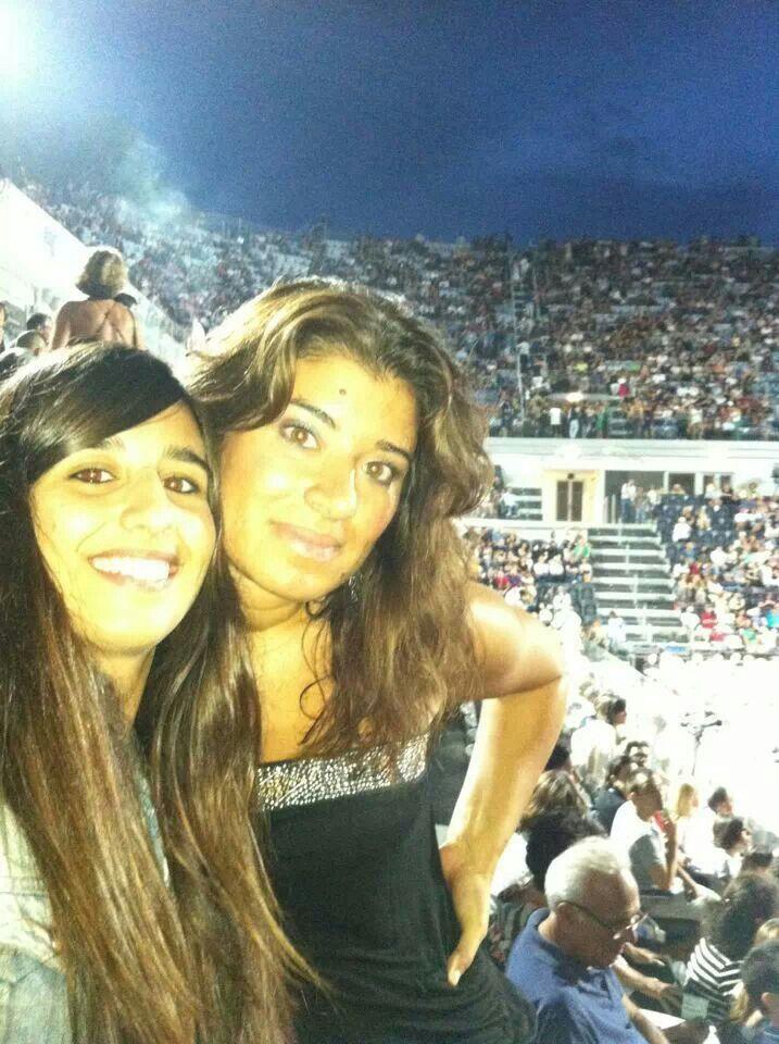 Io e Ilaria al concerto di Battiato