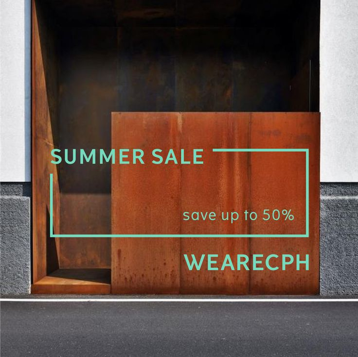 SUMMER SALE is on! Save up to -50% on selected items!