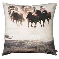 City North Cushion - Running Horses - 60x60cm