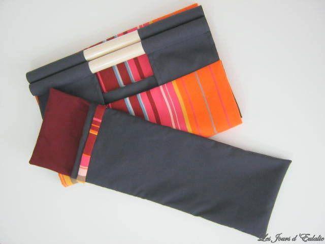 Sac à Buches et son sac de rangement. : Accessoires de maison par les-jours-d-eulalie