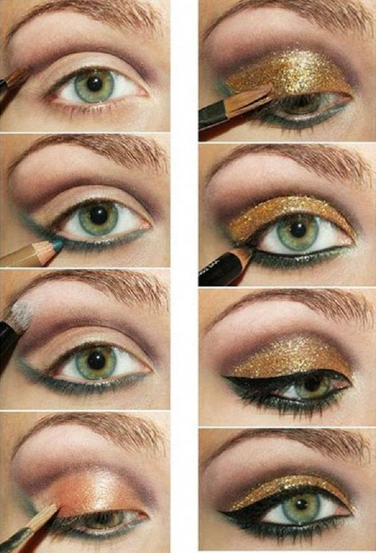 top 10 effortless and fast golden eyeshadow tutorials