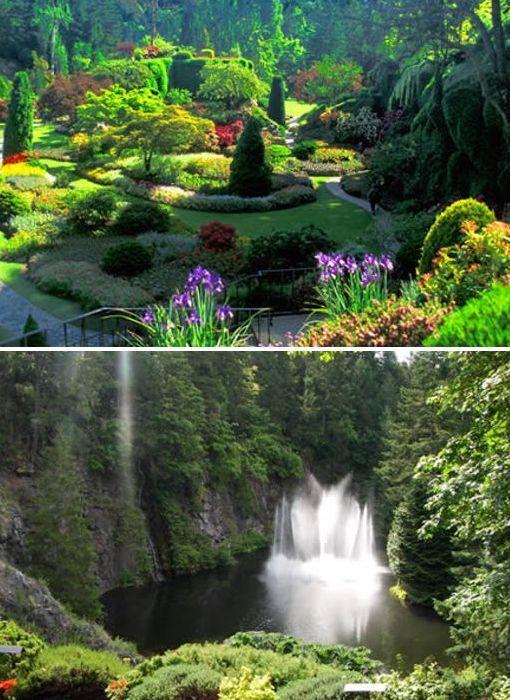 El Jardín  Butchart – Canadá