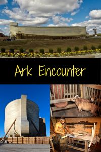Ark Encounter located in northern Kentucky. This is a life-sized replica of Noah's Ark.