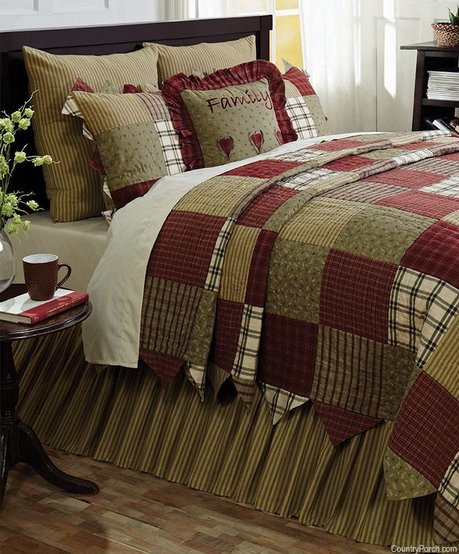 Heartland by Victorian Heart at The Country Porch - love this for the edge of a quilt