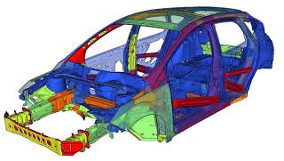 Car Skeleton: car body structures: Ford Focus III