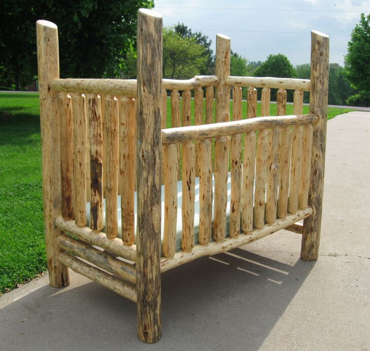 25 Best Ideas about Log Crib on Pinterest  Rustic baby cribs