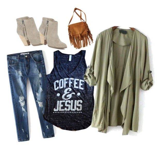 Coffee and Jesus Fall Outfit