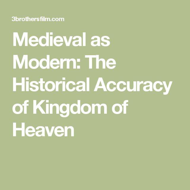 kingdom of heaven historical accuracy