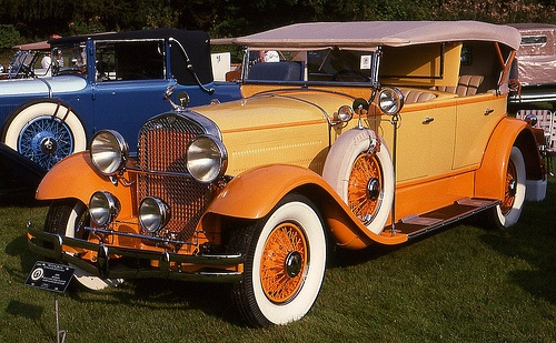 1929 Hudson Super Six dual cowl phaeton by carphoto, via Flickr