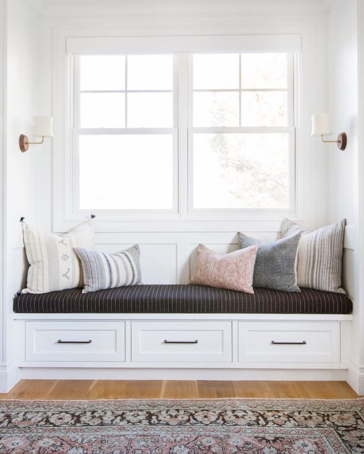 Design Inspiration: Creating Cozy Built In Window Seating