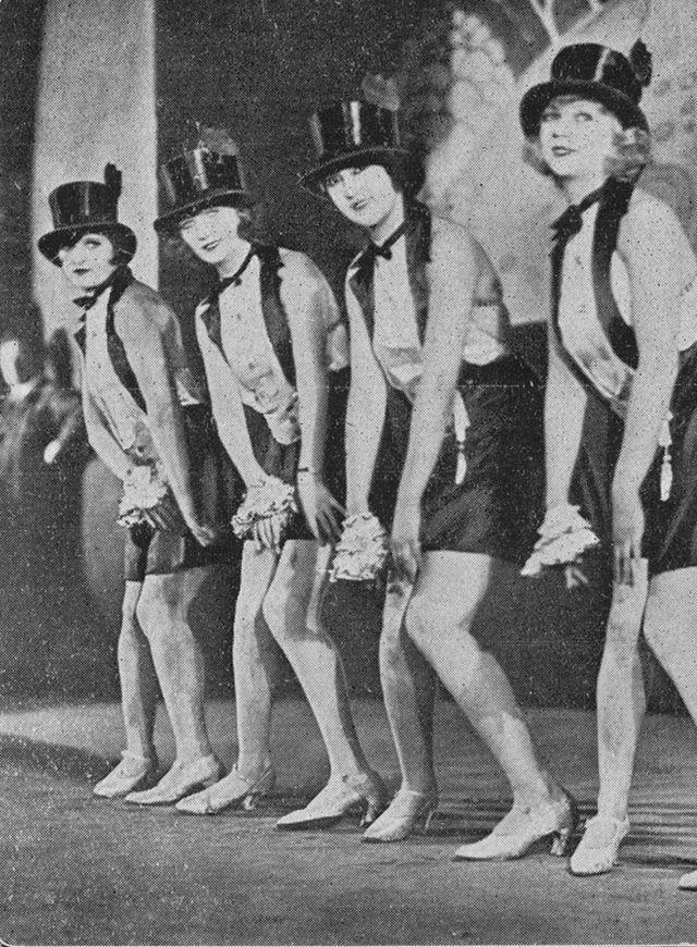Cabaret dancers, 1927.