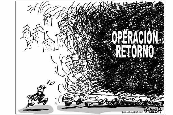 Operación retorno Publicado 5 de enero de 2009