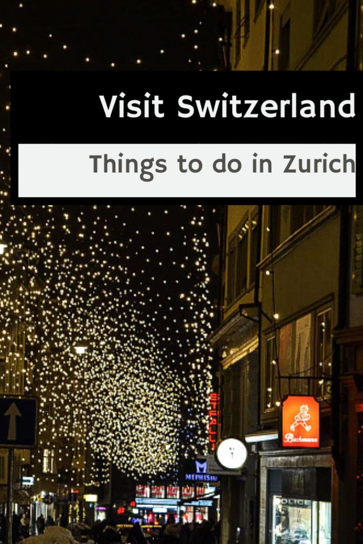 #crazyZURICH or visit crazyZURICH.com by TheCrazyCities.com  Visit Switzerland – Things to do in Zurich