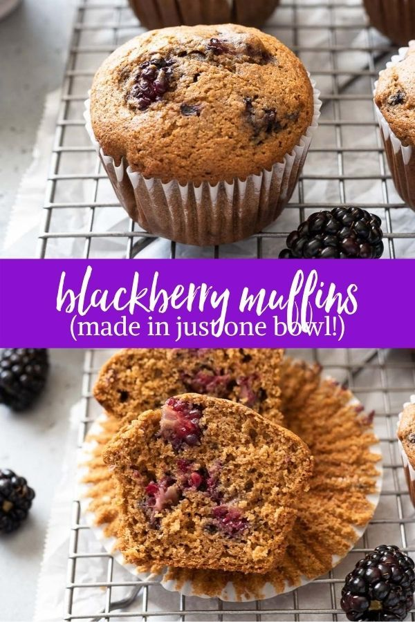 Blackberry Muffins Are Fluffy Healthy And Delicious They Re Packed With Juicy Blackberries Wa In 2020 Cinnamon Muffins Best Homemade Bread Recipe Blackberry Muffin