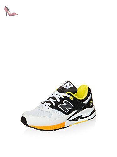 NEW BALANCE W530 B Q2 PU/Mesh/Suede – Boa White/Black Multicolore