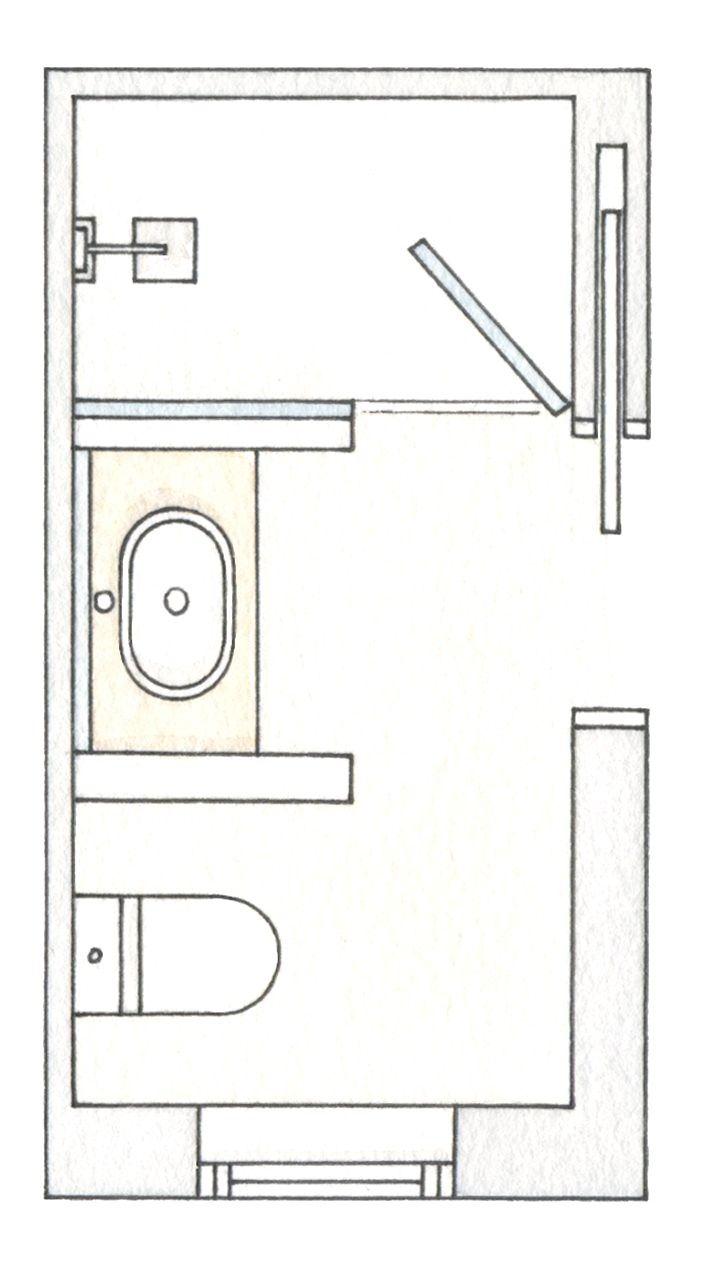 Afbeeldingsresultaat Voor Plan Salle De Bain 4m2 Bathroom Layout Plans Master Bathroom Layout Small Bathroom Layout