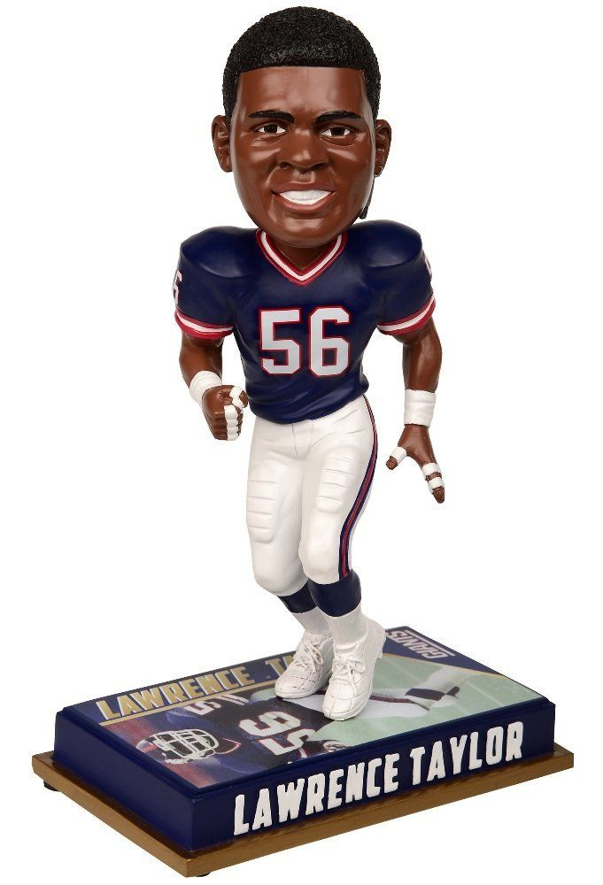 Amazon.com : New York Giants Bobblehead - 8 Inch - Retired Player - Lawrence Taylor #56 : Sports Collectibles