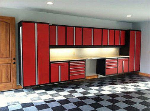 Inside garage ideas garage cabinets calm design - Inside of a garage ...