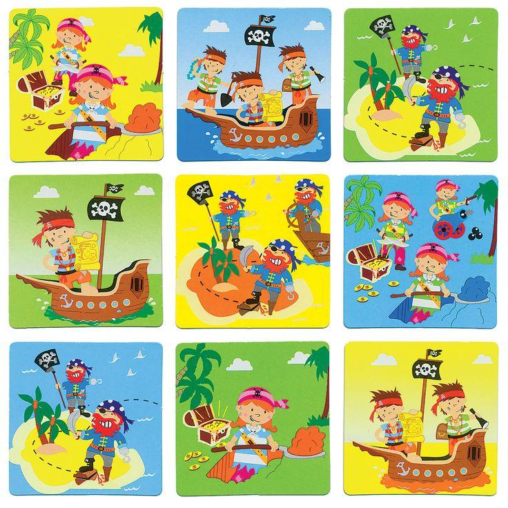 Piraten, overal piraten!