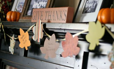 Garland of Gratitude - Thanksgiving Crafts and Activities for Kids I Holiday Craft Ideas - ParentMap