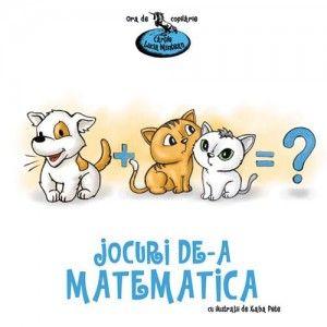 """""""Jocuri de-a matematica"""" este o carte care îi învață pe cei mici să folosească matematica pentru a rezolva situații concrete de viață. Versurile din acest volum pleacă de la astfel de situații și le oferă copiilor posibilitatea de a exersa deprinderi matematice simple, adaptate vârstei pre-școlare: recunoașterea formelor sau culorilor obiectelor, compararea mărimilor și greutăților acestora sau identificarea poziției lor în spațiu. http://jucarii-vorbarete.ro/produs/jocuri-de-a-matematica/"""