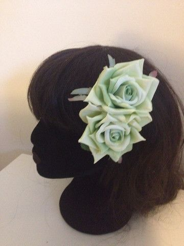 Signature Rose Double ~ Apple Green