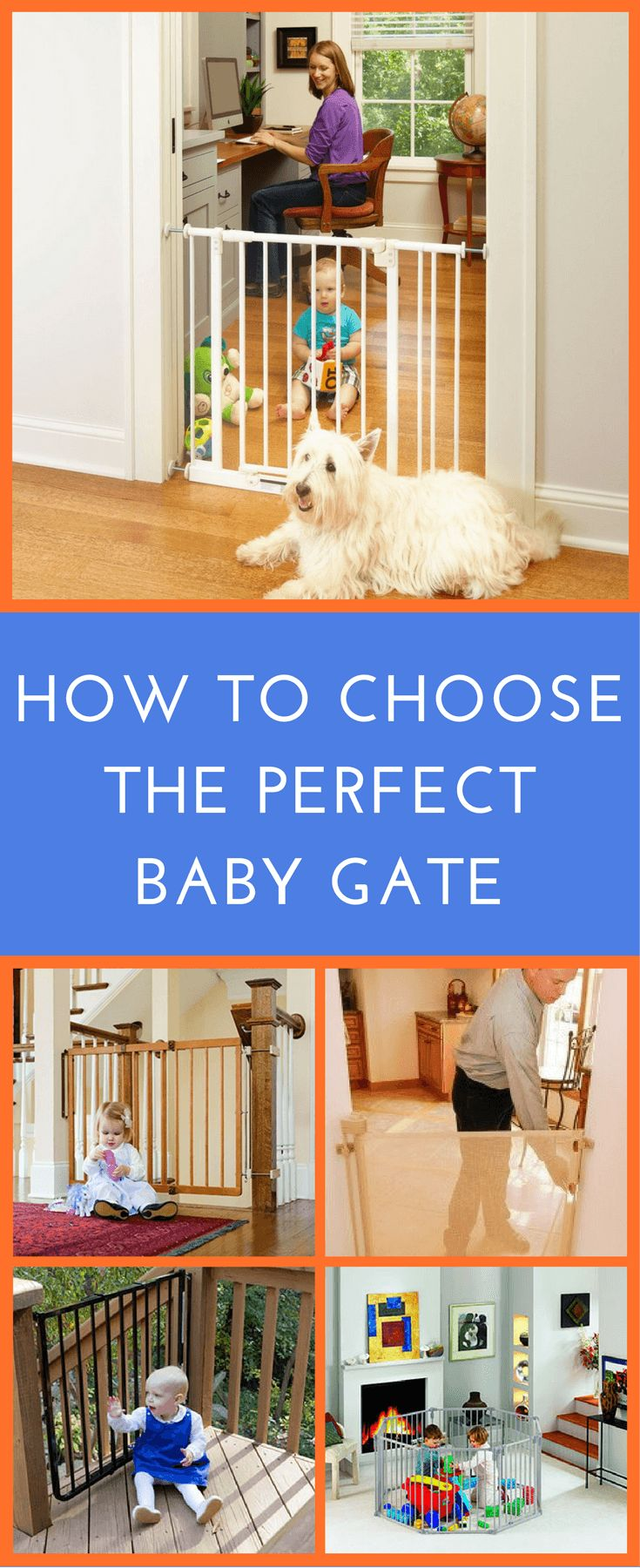 Don't assume that all baby gates are made equal. It is important to avoid any that are unstable, too short, or have potential footholds that a child could use to climb over.   If a gate is not designed well, it can actually be more of a danger than a safety item! Find out in this page for answer of how to choose the best baby gates for a safe home