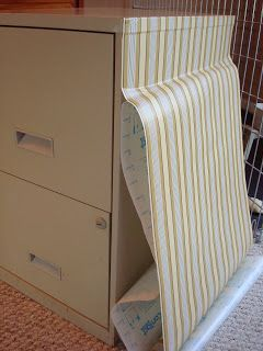 theblessedlife: file cabinet makeover