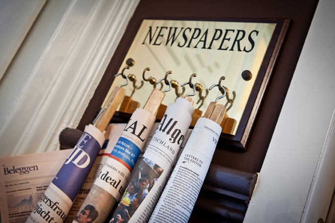 What #news today?  On holiday and you still want to know what's happening in the world? Check our selection of newspapers and magazines.   www.hotelnavarra.com/en/info/267/Newspapers.html