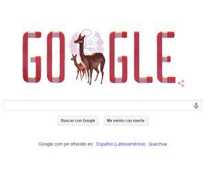 Sabías que Google celebra el Día de la Independencia de Perú