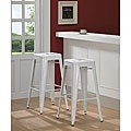 for my studio...Tabouret 30-inch White Bar Stools (Set of 2)