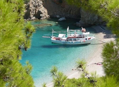 Karpathos - Beautiful Apella beach -