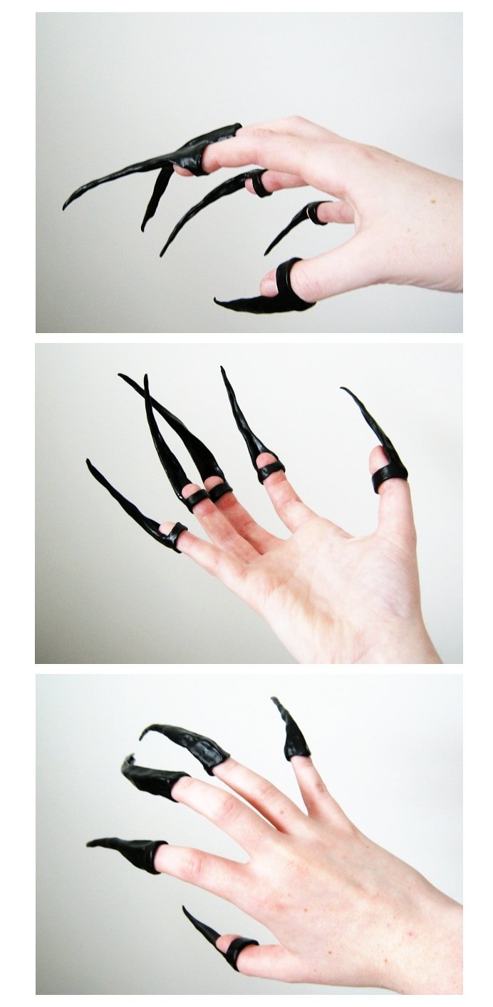 All Tomorrow's Parties...: Tutorial - Rat Claws: Emilie Autumn Style