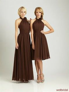 vestidos para damas de honor ..en OTRO COLOR!!