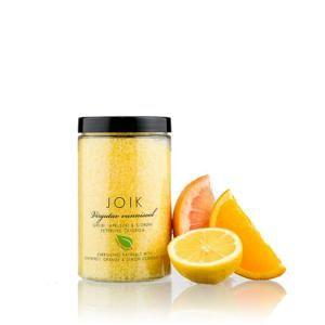Povznášející koupelová sůl s olejem z citronů, pomerančů a grapefruitu Joik