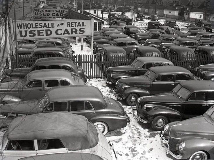 1940 Used Car Dealership, Chicago, Illinois Car
