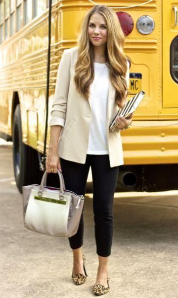 Dicas de Looks de Trabalho para: Professoras