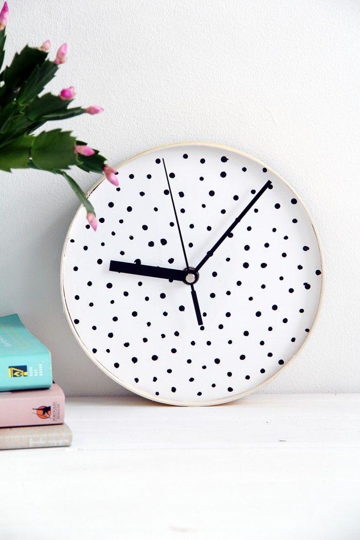 Gör en prickig klocka