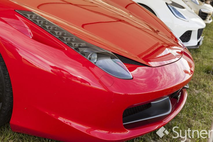 Beauty in Design - The Ferrari 458's Front Fins