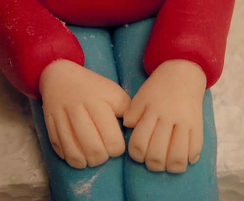 Great tutorial for fondant person