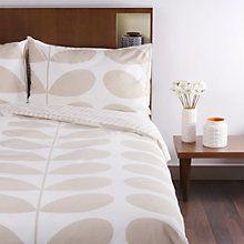 Buy Orla Kiely Giant Stem Flannelette Bedding Online at johnlewis.com