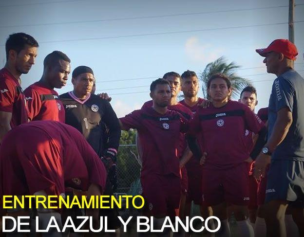 Reporte FutbolNica: Entrenamiento De La Azul Y Blanco