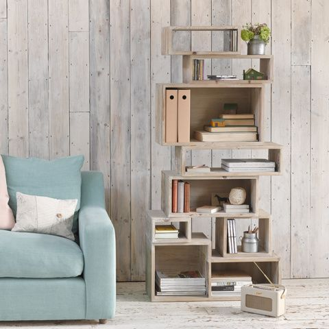 KING CRATE MATE. This quirky fellow is a bigger incarnation of our immensely popular Crate Mate shelving. They say you can't teach an old dog new tricks….we disagree. #BonjourBlighty #shelf #wood