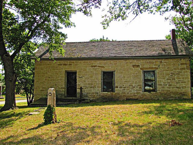 Last Chance Store -    On the Santa Fe Trail in Council Grove, Kansas.