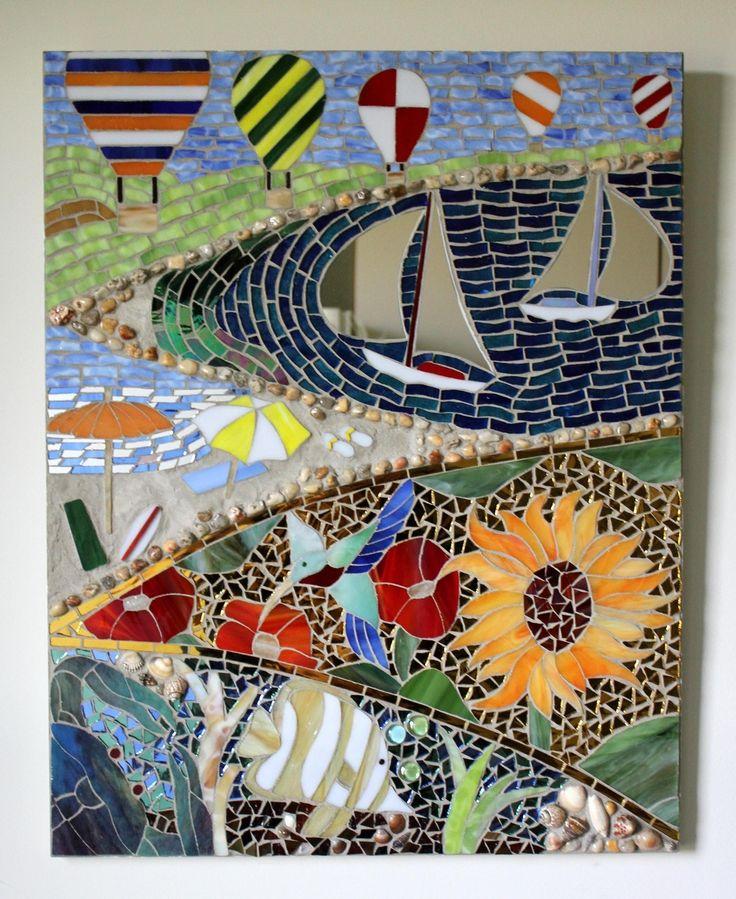 Multi Media Mosaic by GlassArts Studio Sometimes