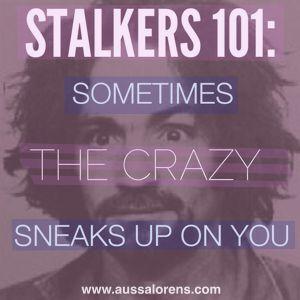 my ex boyfriend is stalking me
