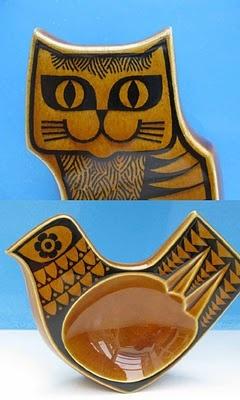 2 vintage ceramic pieces by Hornsea.